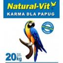 """Karma dla średniej papugi """"Nimfa""""+słonecznik 75 - 20 kg"""