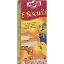Biscuit Honey - miodowe biszkopty dla ptaków (6 sztuk)