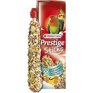 Prestige Sticks Big Parakeets Exotic Fruit 140g - kolby z owocami egzotycznymi dla średnich papug