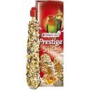 Prestige Sticks Big Parakeets Nuts&Honey 140g - kolby orzechowo - miodowe dla średnich papug