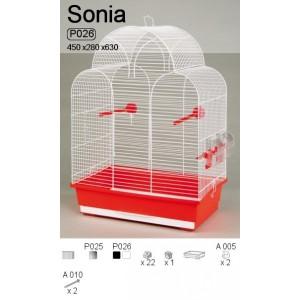 Klatka  Sonia ocynk P025