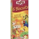 Biscuit Fruit - owocowe biszkopty dla ptaków (6 sztuk)
