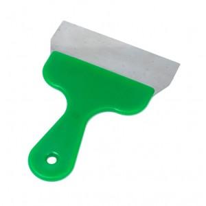 Szpachelka ręczna, kolor zielony, szerokość 16cm