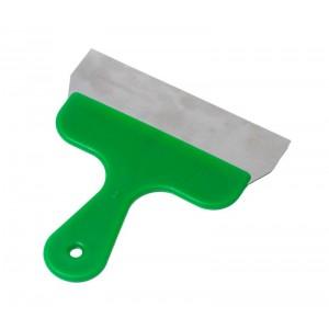 Szpachelka ręczna, kolor zielony, szerokość 20cm